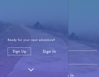 Trail App UI