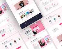 Project: Barber Shop & Spa Web UI