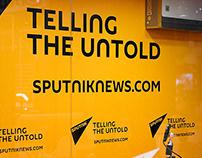 Sputnik news agency redesign concept