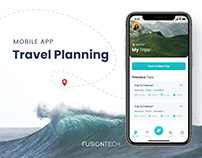Travel Planning MOBILE APP