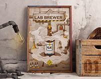 Poster Series Vo.1 - Beer Laboratory