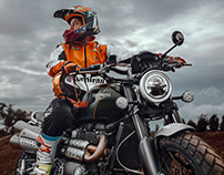 Ashish Raorane X Triumph Scrambler 1200XC