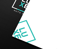 Brand Identity Design for LUXE Auto Spa