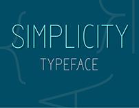 SIMPLICITY: Typeface