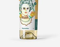 Mathilde wine label