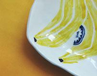banana plate