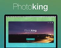Photoking - photo sharing web app