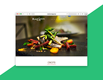 Gourmet Chef Website Design