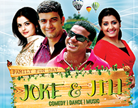 Joke N Jill Stage Programme Flyer