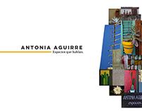 ANTONIA ESPACIOS // DISEÑO DE CONCEPTO Y WEB