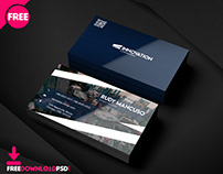 Corporate Official Business Card PSD Template