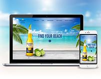 Corona Extra website