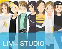 Illustrations for LIM+ Studio
