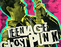Teenage Ghost Punk Film Key Art