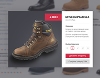 Online Store PSD Free