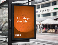 Electric Expo 2019 - Identity Design