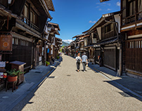 Photo collection of important traditional buildings in