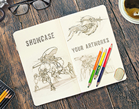 Sketchbook & Notebook Mockups