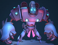 Cartoon Mecha
