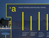 aledo | presentation design