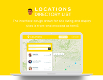 Location Website Design