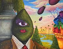 Ms. Avocado's Eggplant Brigade