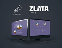 Zlata-Trade - Website & Logo