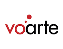 Voarte logo animation