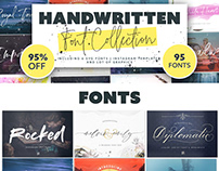 Handwritten Fonts Collection