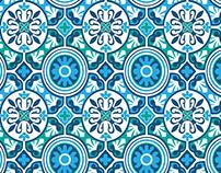 Morocco Tile Print