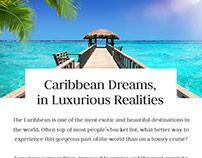 Barrhead Travel Luxury Cruise eshot template