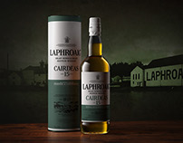 Laphroaig Bottle & Tube Visuals