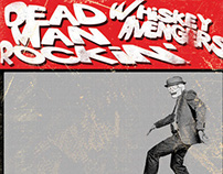 Whiskey Avengers :Dead Man Rockin CD cover