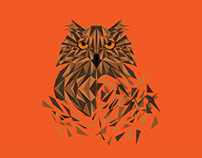 Owl's polygonal