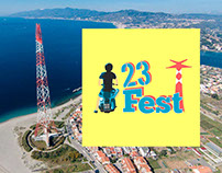 23Fest - Graphics and Web Design for a Music Festival
