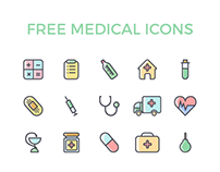 Free healthcare icon by Roll'n'Code