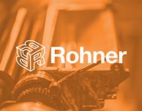 Rohner Letterpress Identity