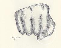 BALLPEN HANDS