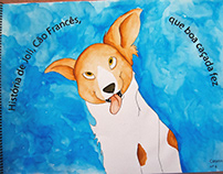 História de Joli, Cão Francês, que boa caçada fez