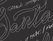 La Santa Cecilia Poster for Ballroom Marfa