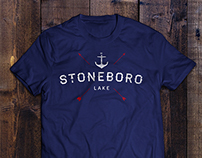 Stoneboro Lake T-Shirt Design