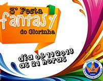 Convite - Colégio Glorinha