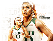 Miami Women's Basketball Sophomore Mailer