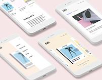 GG shop redesign
