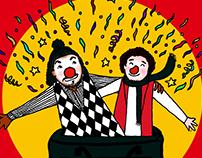 """""""Ese é mío"""" Comedia Clown"""