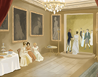 Regency Love - Background Art