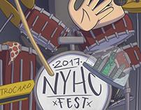 New York Hardcore Fest Poster