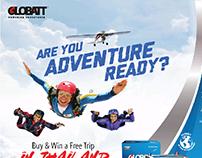 Globatt Adventure Ready Campaign Press