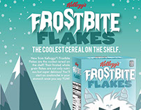 Frostbite Cereal Box Mock-Up