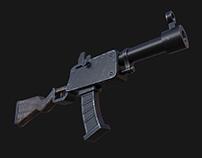 Cartoony Rifle